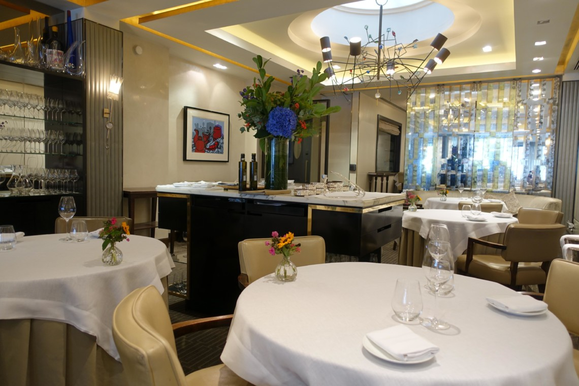 Murano restaurant mayfair