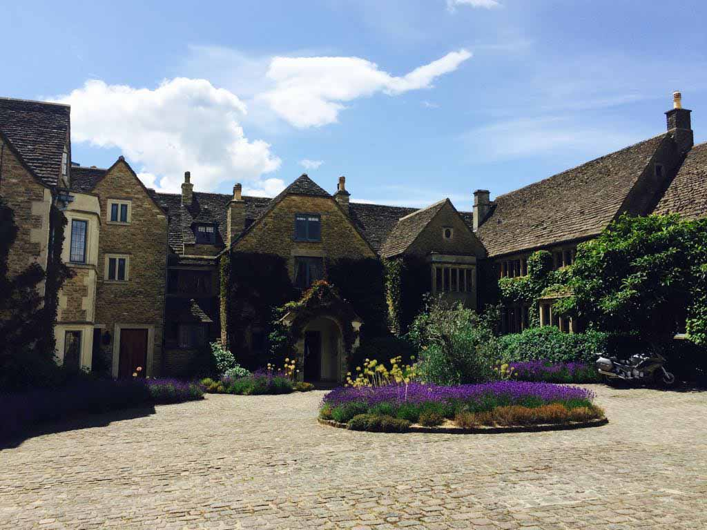Front of hotel. Major Foodie Review   The Dining Room at Whatley Manor