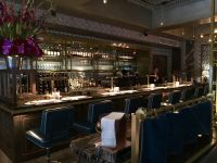 A rather elegant interior at Bob Bob Ricard - food wasn't bad either!