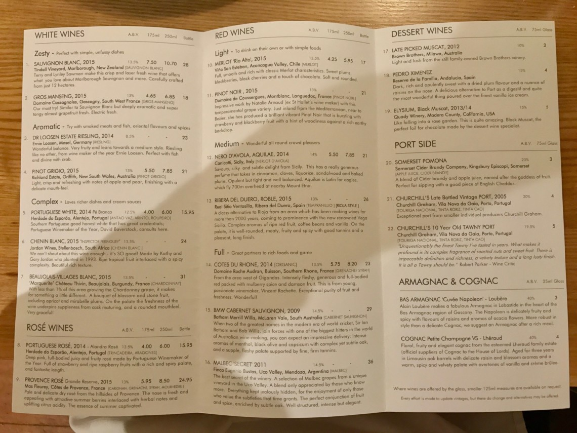 Major Foodie Review - Thomas Carr at The Olive Room